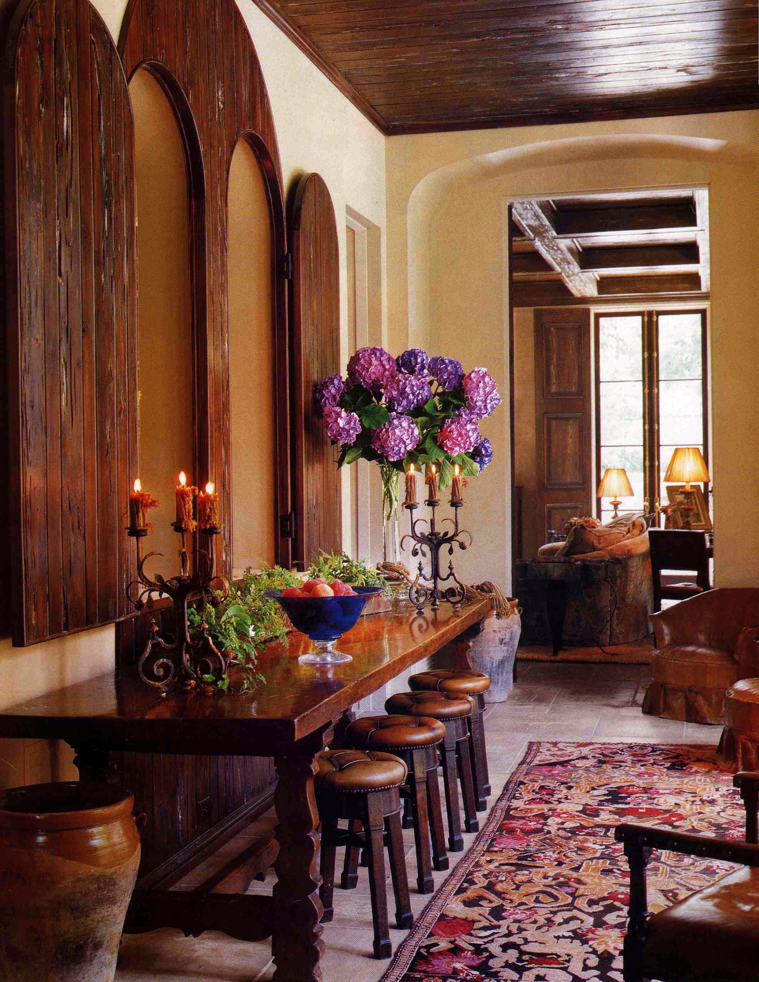 Italian Country Home Tuscan Interior